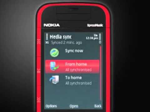 A Sync demo Nokia expres musik 5730