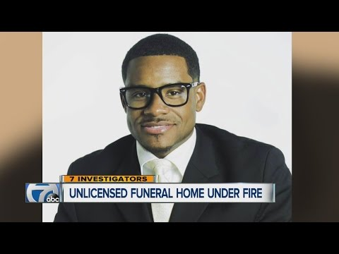 Unlicensed Funeral Home Under Fire