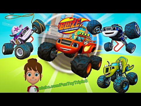 Blaze and the Monster Machines - Nick Jr. World!