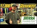 $1,000 GEAR GIVEAWAY! - With Sierra Trading Post