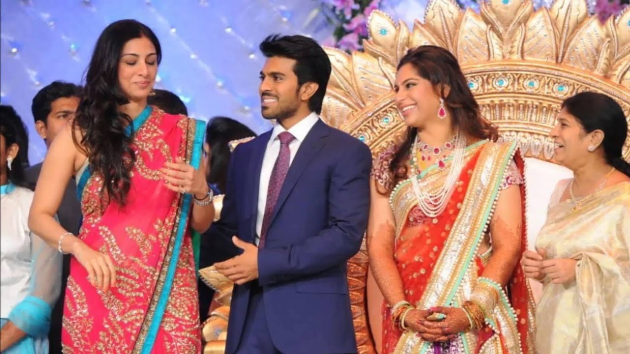 Actress Tabu At Telugu Actor Ram Charan Teja Wedding