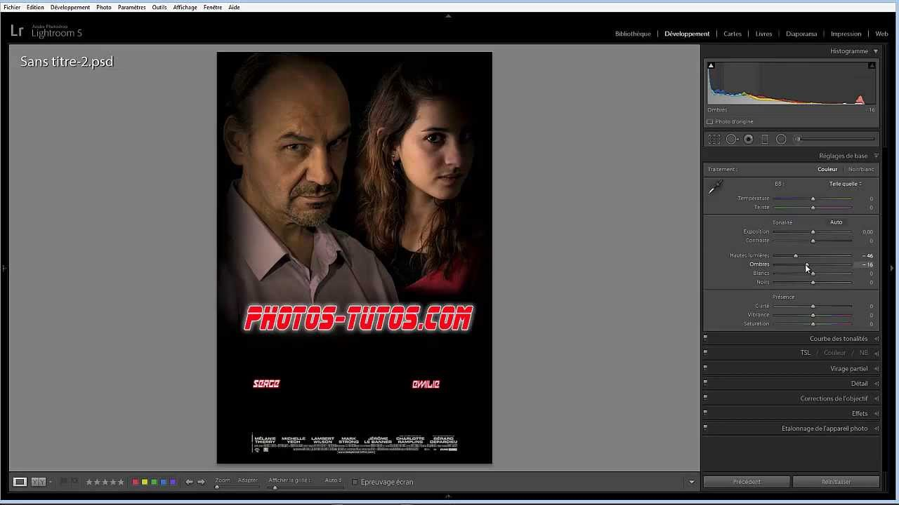 Photo montage faire une affiche de film youtube - Faire une cloison de separation ...