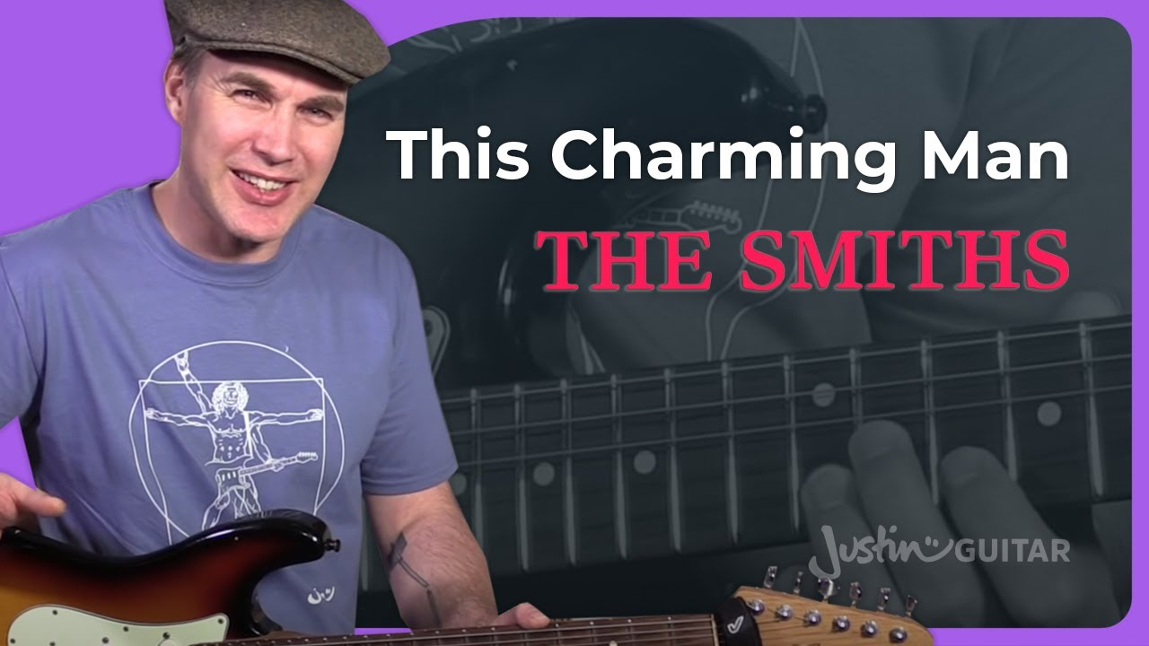 The Smiths This Charming Man Guitar Lesson How To Play Johnny Marr