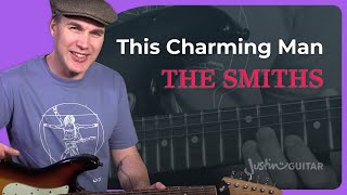 The Smiths - This Charming Man Guitar Lesson How To Play Johnny Marr Riff