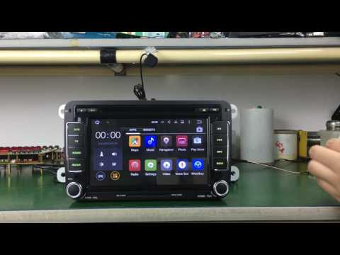 Joying Android 5.1 car radio 7 inch for VW with Bluetooth WiFi touch screen gps dvd car stereo