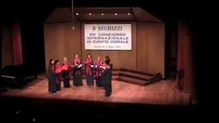 Johannes Brahms - O bone Jesu, Op. 37, n. 1 - Ensemble Virgo Vox (Italia)