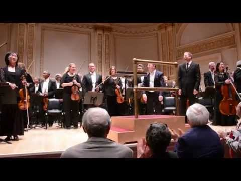 7-Minute Standing Ovation at Carnegie Hall