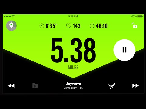Save New Nike+ Running Club App Preview Pics