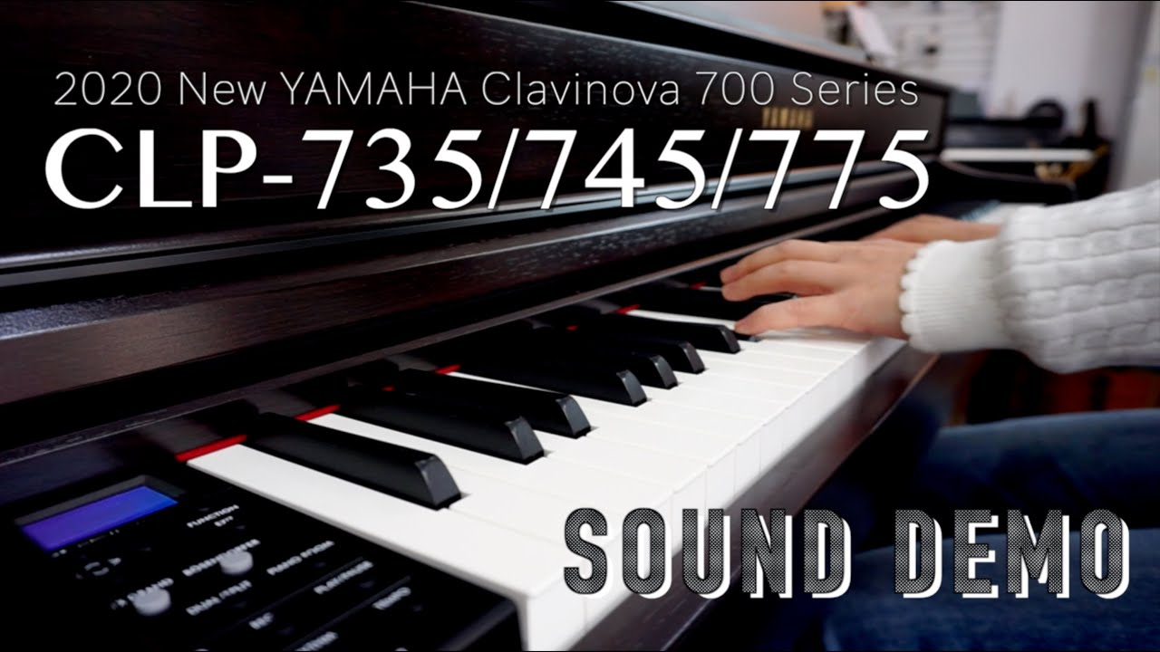 YAMAHA CLP-700 Series 38Voices Sound DENO