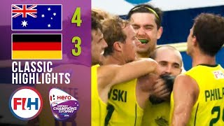 THRILLING FINALE! | Australia vs Germany | Men's Hockey Champions Trophy 2016 | Classic Highlights