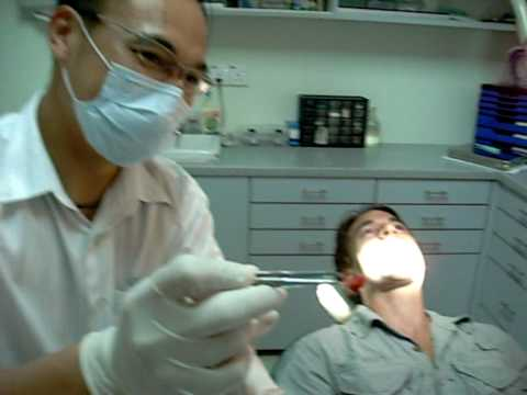 A visit to the dentist in Kota Kinabalu, Malaysia