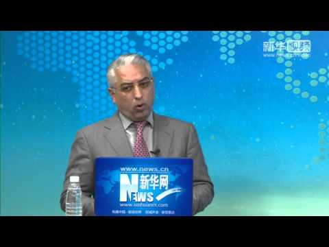 Randeep Grewal talks to Xinhua News Net 2015