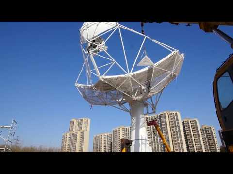 Manufacturing a radio telescope - The first SKA prototype dish