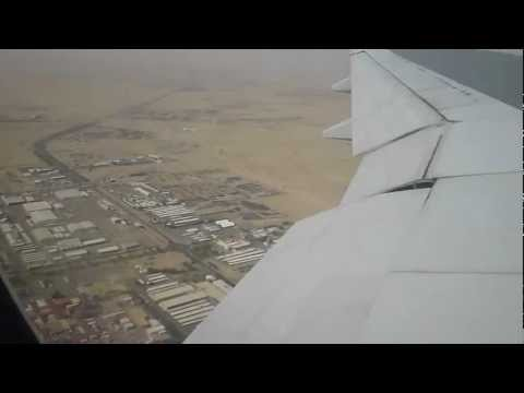 Kuwait Airways KU302 Landing at Kuwait International Airport HD