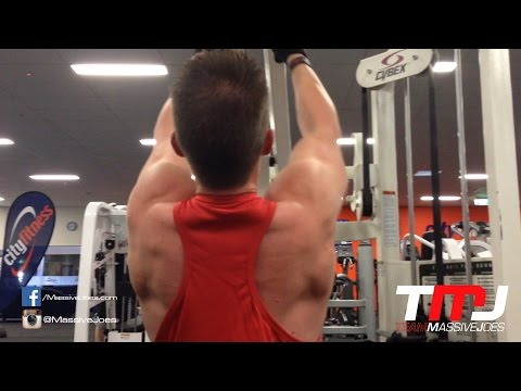 In The Gym With Team MassiveJoes - Back Workout With Gymeez - City Fitness Christchurch, Nov 26 2014