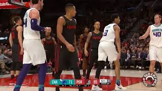 Portland Trail Blazers vs Charlotte Hornets - Full Game Highlights - February 8 2018