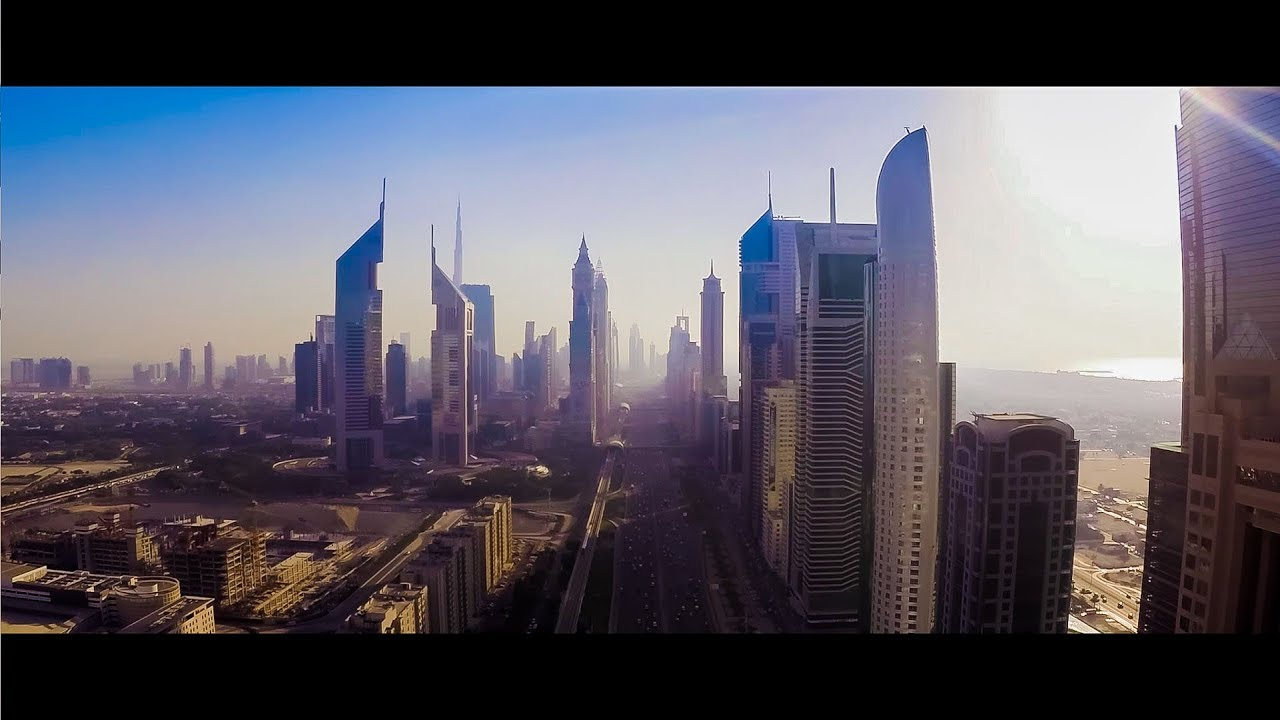 HIGH in DUBAI - Drone Footage | FunnyDog.TV