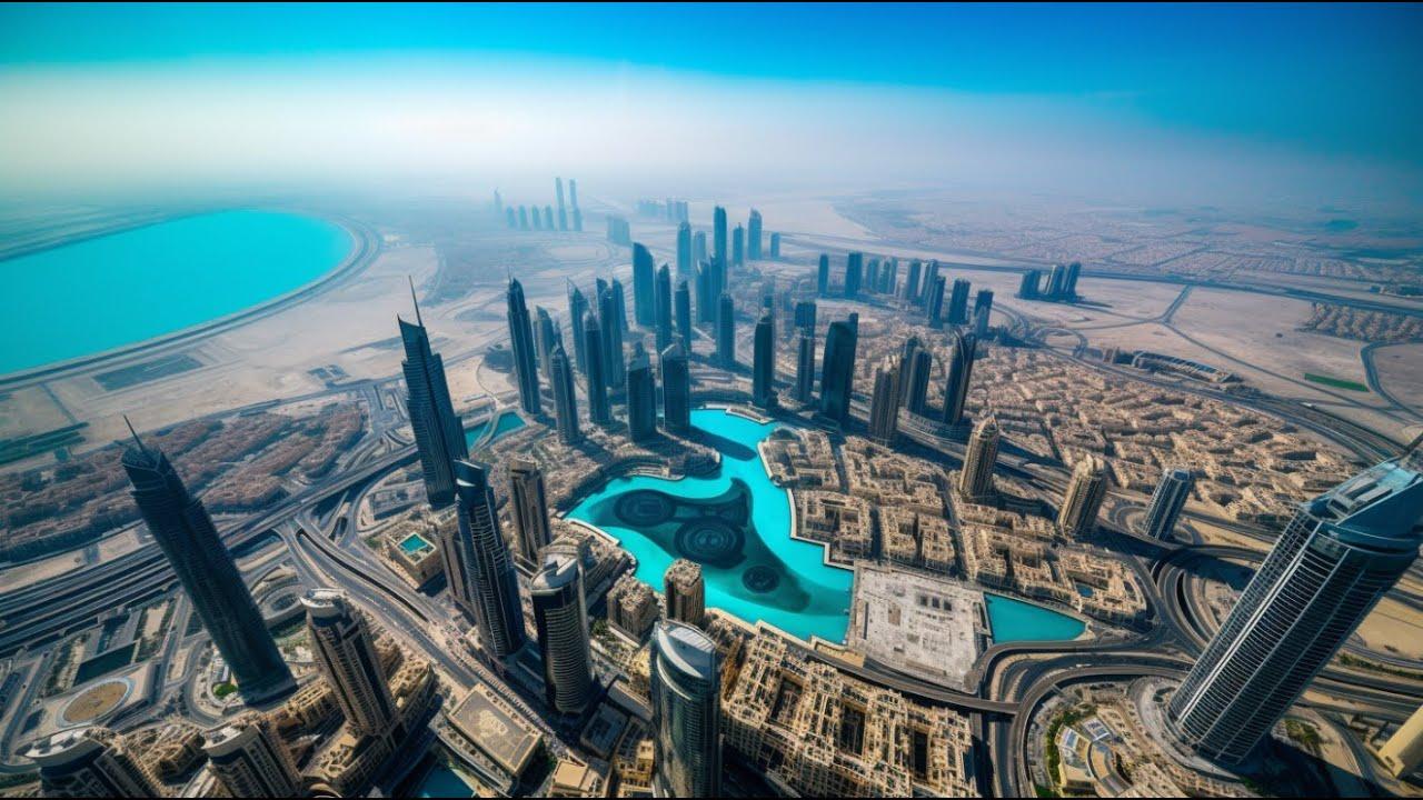 HIGH in DUBAI - Drone Footage - YouTube