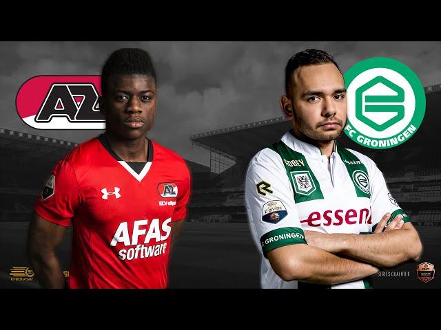 AZ - FC Groningen | Speelronde 28 | E-Divisie