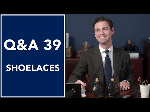 How Do You Tie Shoelaces Like A Gentleman? Q&A 39 | Kirby Allison