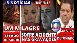 Triste noticia na Globo: Ator da novela A Dona do Pedaço Sergio Guize, Fausto Silva e Gloria Maria