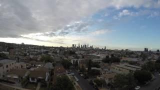 Cloudy morning in LA