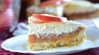 Layered Apple Pie with Salted Caramel Recipe