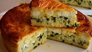 ✧ ЗАЛИВНОЙ ПИРОГ [#Запеканка] С СЫРОМ ФЕТА ✧ Pie with Feta cheese ✧Марьяна