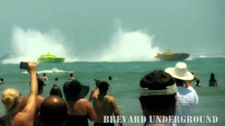 Cocoa Beach Super Boat Grand Prix Race 2011 HD - Best Video - Brevard Underground