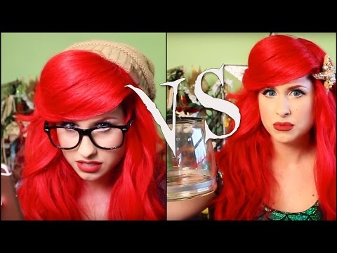 Ariel vs Hipster Mermaid
