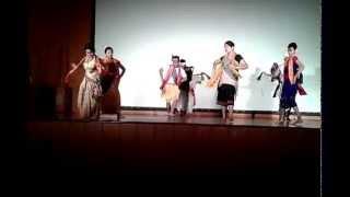 Assamese Dance Performance!!! @University of Hyderabad.