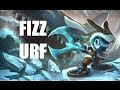 League of Legends - Ultra Rapid Fire Fizz - Full Game Commentary