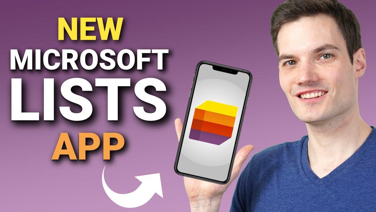 How to use NEW Microsoft Lists iOS app