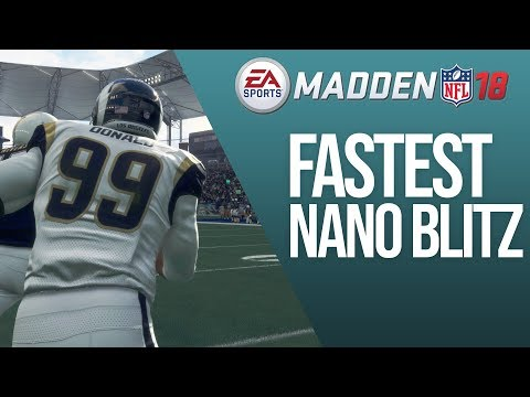 The Fastest Nano Blitz In Madden 18