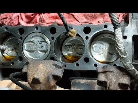 Chevy 5.7 Head Gasket Replacement Part 4 - Cleaning Parts