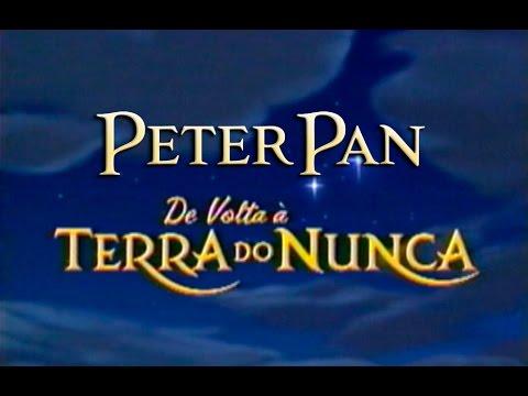 Peter Pan Em De Volta à Terra Do Nunca Walt Disney Abertura