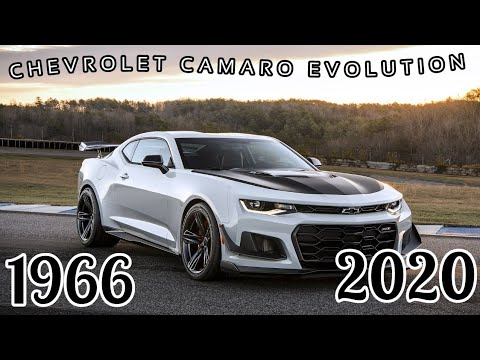 Chevrolet Camaro Evolution 1966 2020