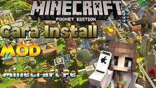 | Cara mudah Untuk Mendownload Mod Di Minecraft Pe | (OUTDATE)