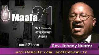 Rev. John Hunter speaks about Maafa 21