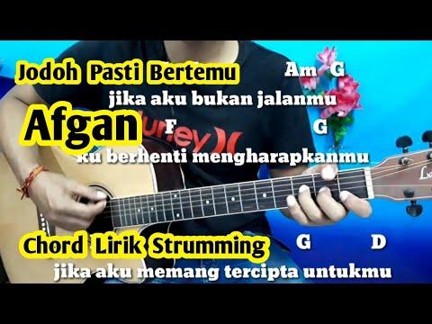 Chord Mudah (Jodoh Pasti Bertemu - Afgan) By Darmawan Gitar ( Tutorial Gitar ) Untuk Pemula