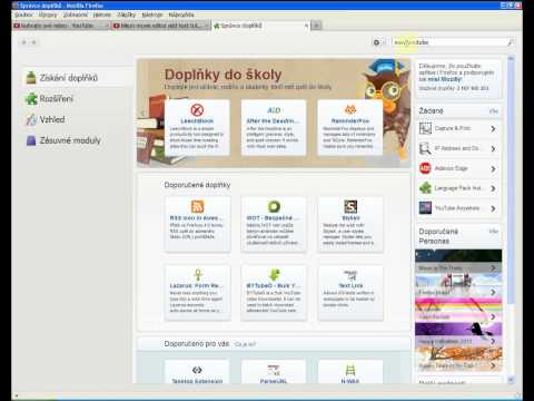 download video from youtube Firefox Extension