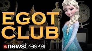"""""""Let it Go"""" Writer Lopez Joins the EGOT Club; Youngest to Win an Emmy, Grammy, Oscar, and Tony Award"""