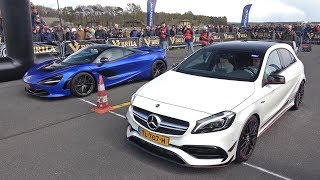 McLaren 720S vs Mercedes-Benz A45 AMG