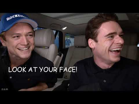 Taron And Richard Carpool Crack! (rocketman)