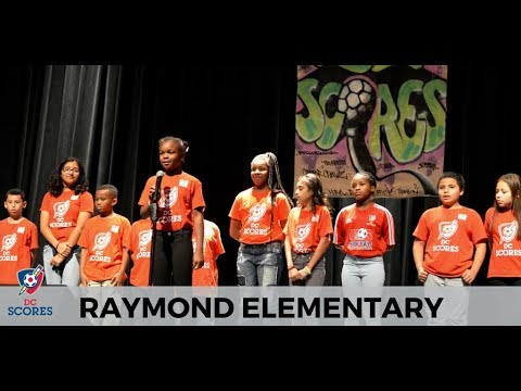 Raymond Elementary Performs At 2017 Poetry Slam!
