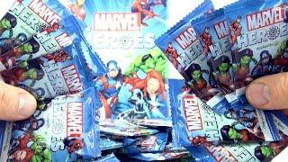 30 Marvel Heroes Discs Woolworths -  Super Heroes Collectors Blind Bags -  Spiderman Captain America