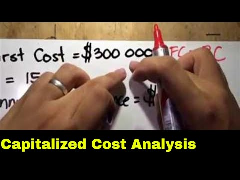 Capitalized And Annual Cost