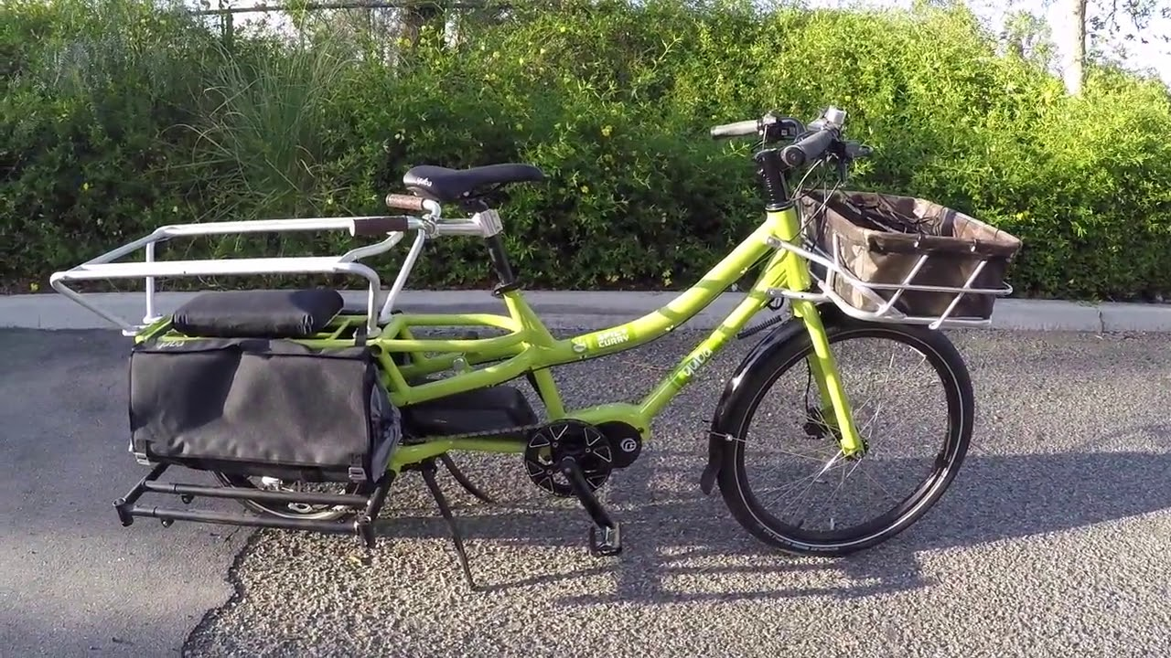Yuba Spicy Curry Video Review Electric Assist Cargo Bike with a Mid Drive  Motor
