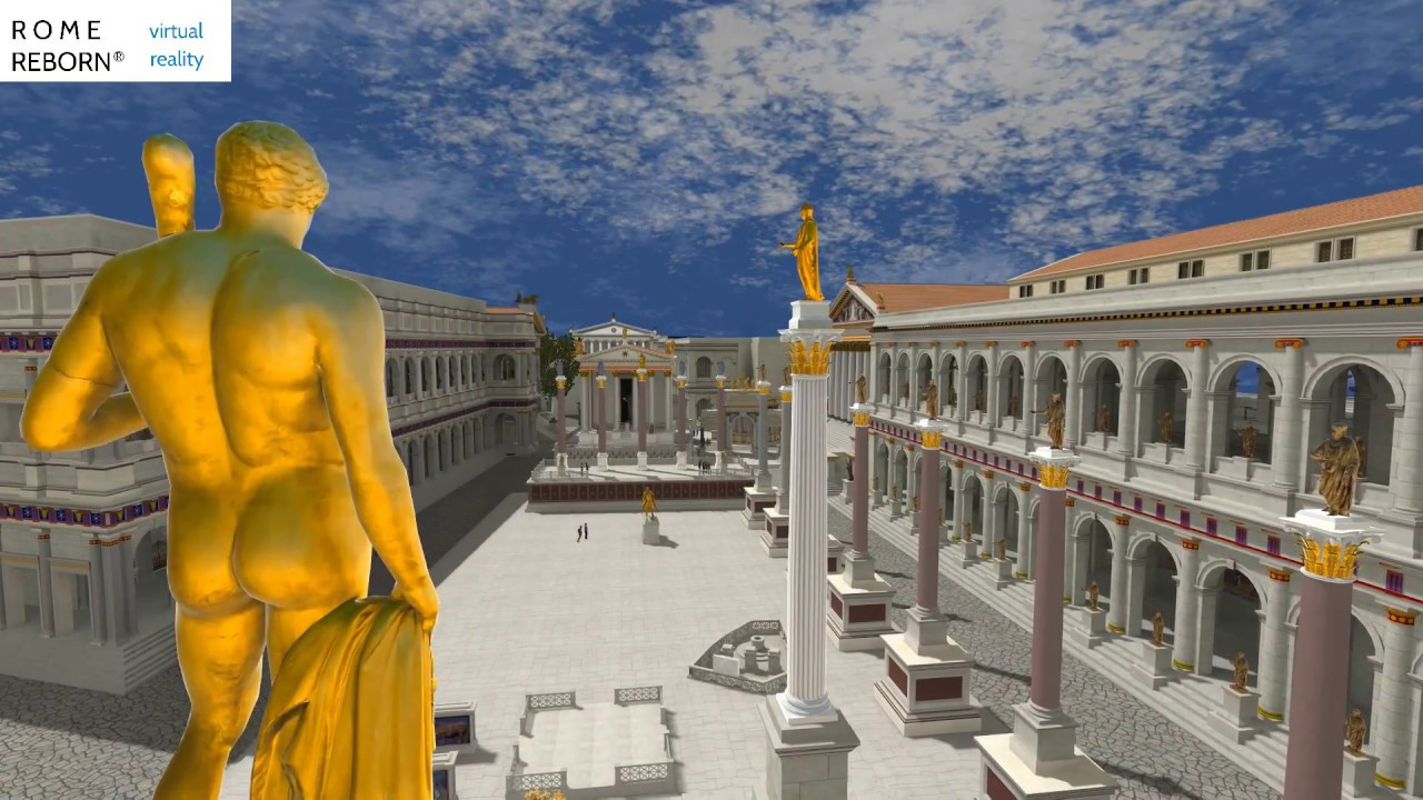 Virtual reality project takes visitors on a tour of ancient