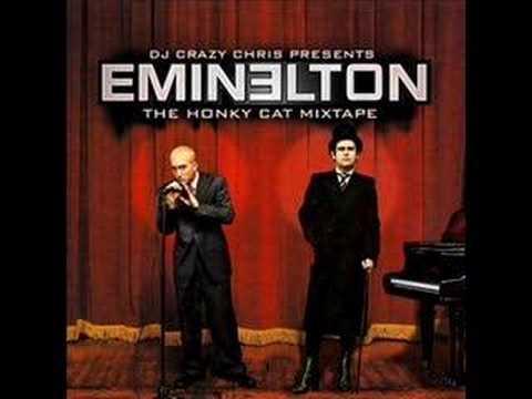 Eminem, Elton John  Cleaning off the yellow brick road